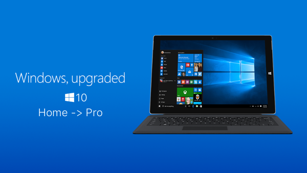 can i upgrade from windows 10 home to pro