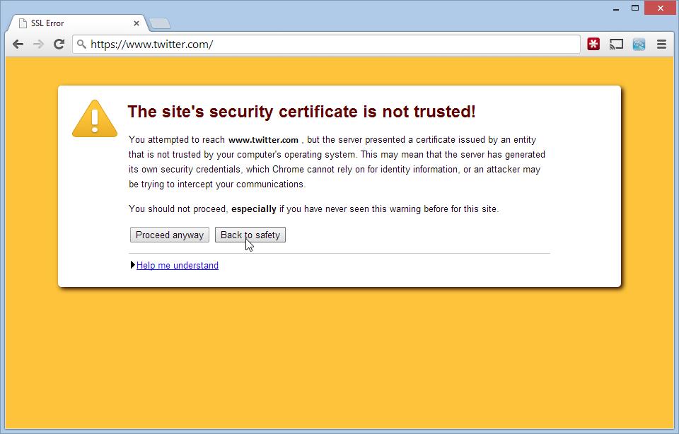 Methods To Fix Windows Security Certificate Warnings