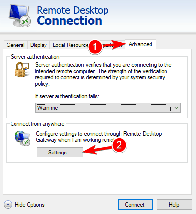 FIX: Remote Desktop Connection Not Working in Windows 10