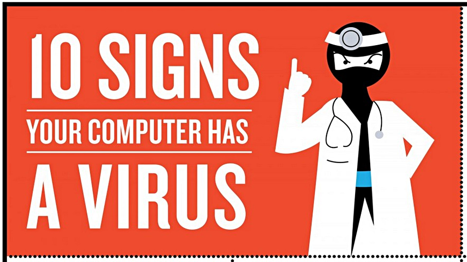 10 Signs That shows Your PC is Infected With Malware