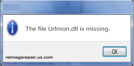 How To Fix Urlmon.dll Not Found or Missing Error Message