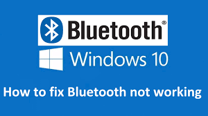 bluetooth not working