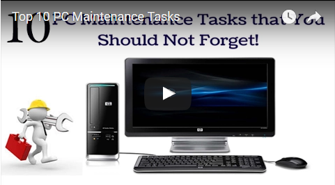 [VIDEO] Top 10 PC Maintenance Tasks