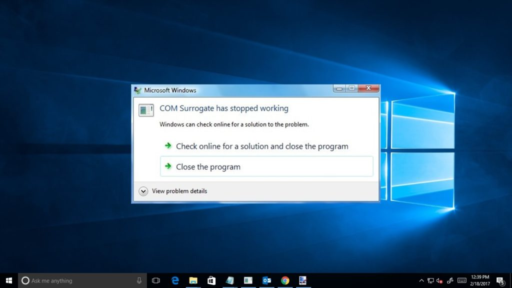 """6 Working Solutions to Fix """"COM Surrogate Has Stopped Working Error"""" on Windows"""