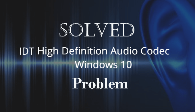 audio codec windows 10