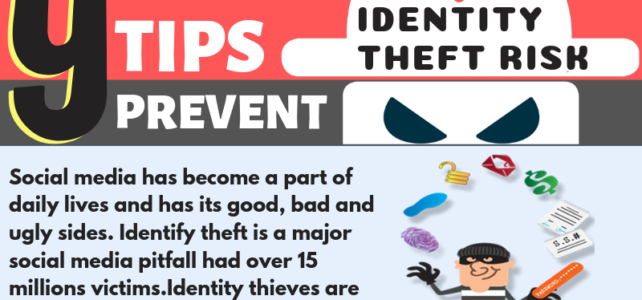 [INFOGRAPHIC] 9 Tips to Stay Safe from Identity Theft Risks