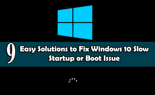 fix windows 10 slow startup